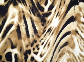 Baumwollstretch - animal print