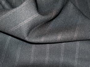 Nadelstreifen - schwarz/grau