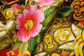 Twillrapport - Blumen und Ketten