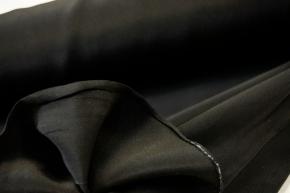 Seidencrepe - schwarz