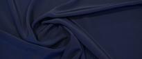 Rest Seide - nachtblau