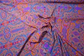 Crepe - lila Muster
