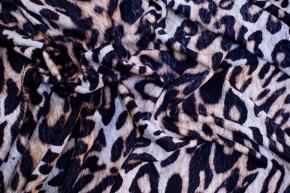 Seidenjersey - animalprint