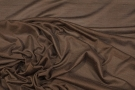 feiner Seidenjersey - dunkelbraun