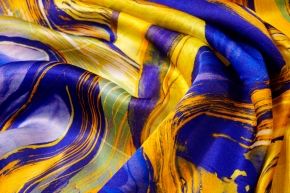 Seidensatin - Farbverlauf