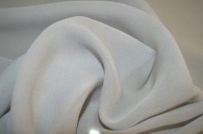 Chiffon - silbergrau