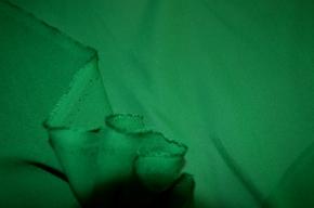 Chiffon - smaragdgrün