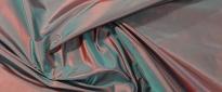 Taft - rot/blau changierend