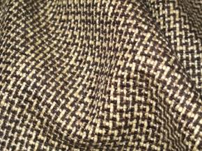 BaumwollMix beige/schwarz