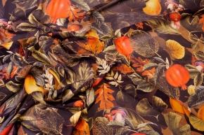 Seidenstretch - Blätter und Obst