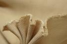 Strukturgewebte Seide - camel