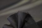 elastischer Chiffon - schwarz