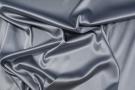 Seidenstretch - silbergrau mit Blaustich