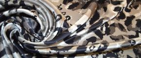 Rest Satin - Camouflage und animal print