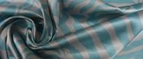 Rest Satin - grau und bleu