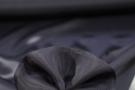 dünner Seidensatin - schwarz