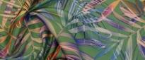 SeideLeinenMischung - Palmenblätter