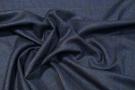 Seide mit Schurwolle - Blautöne