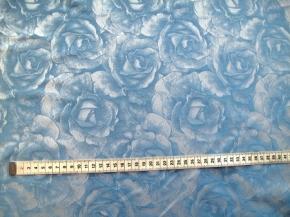 Seidenmischung blau und weiß