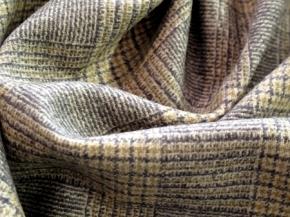 Schurwolle grau/beige
