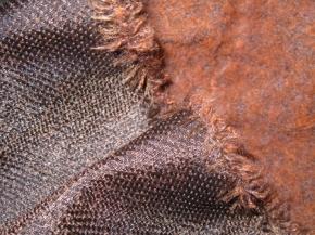 Schurwollmischung - rehbraun