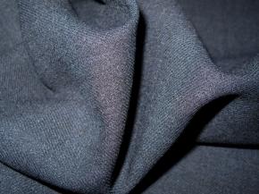 Rest Schurwolle - nachtblau