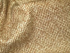 Schurwollmischung, beige/weiß