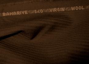 Schurwolle - schwarzbraun