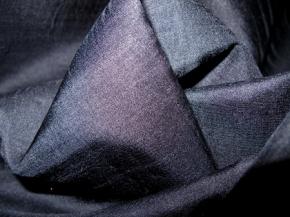 Seide-Schurwollmischung in nachtblau