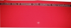 Crepe Georgette, Albin Reißmann
