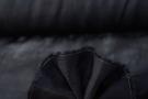 Blusenleinen - schwarz
