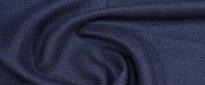 Kostümleinen - Fischgrät, nachtblau