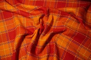 Givenchy - orange/rotes Karo