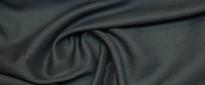 satiniertes Halbleinen - schwarz