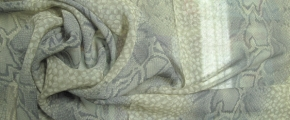 Seidenchiffon - snake