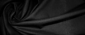 Halbleinen - schwarz