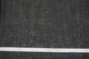Leinen mit Nylon - schwarz