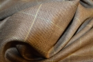 Schurwolle mit Überkaro