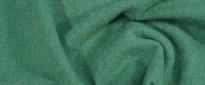 Schurwolle - grün meliert