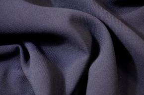 Schurwolle - Doppellagig, dunkelblau