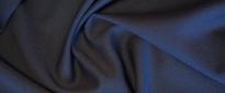 Rest Georgette - dunkelblau