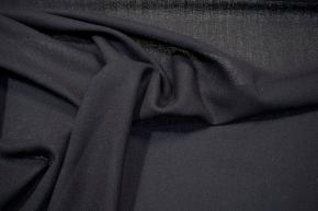 Crepe Georgette - schwarz