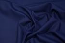 Rest Satin - Double Face, königsblau