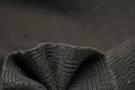 Karo-Strick - dunkelbraun