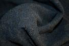 Bouclé - blau und grau