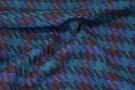 Schurwollmischung - blau/grün