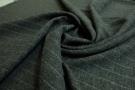 Wollmischgewebe mit Nadelstreifen
