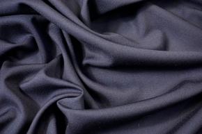 Feingabardine - nachtblau