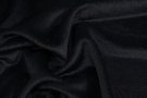 Velour Alpacamischung - schwarz