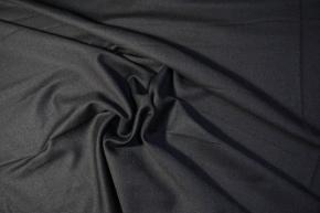 Schurwolle mit Kaschmir - schwarzblau